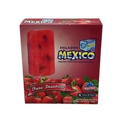 Helados Strawberry Bars